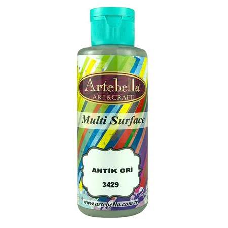 Artebella Multi Surface Boya 130cc Antik Gri